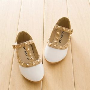 Other - Princess Rivet girl shoes white